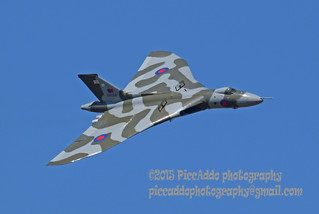 Vulcan XH558 at Fairford 2015 | by Martin D Stitchener PiccAddo Photography