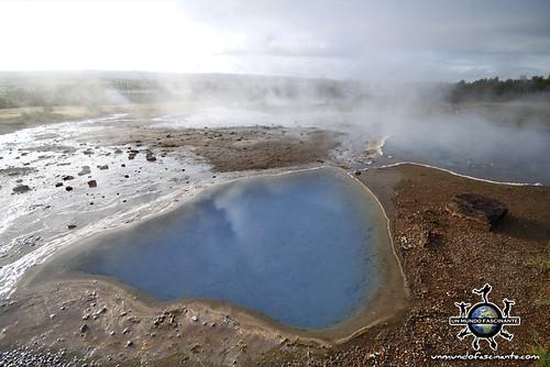 Geysir, Islandia.   by evamundo.viajes