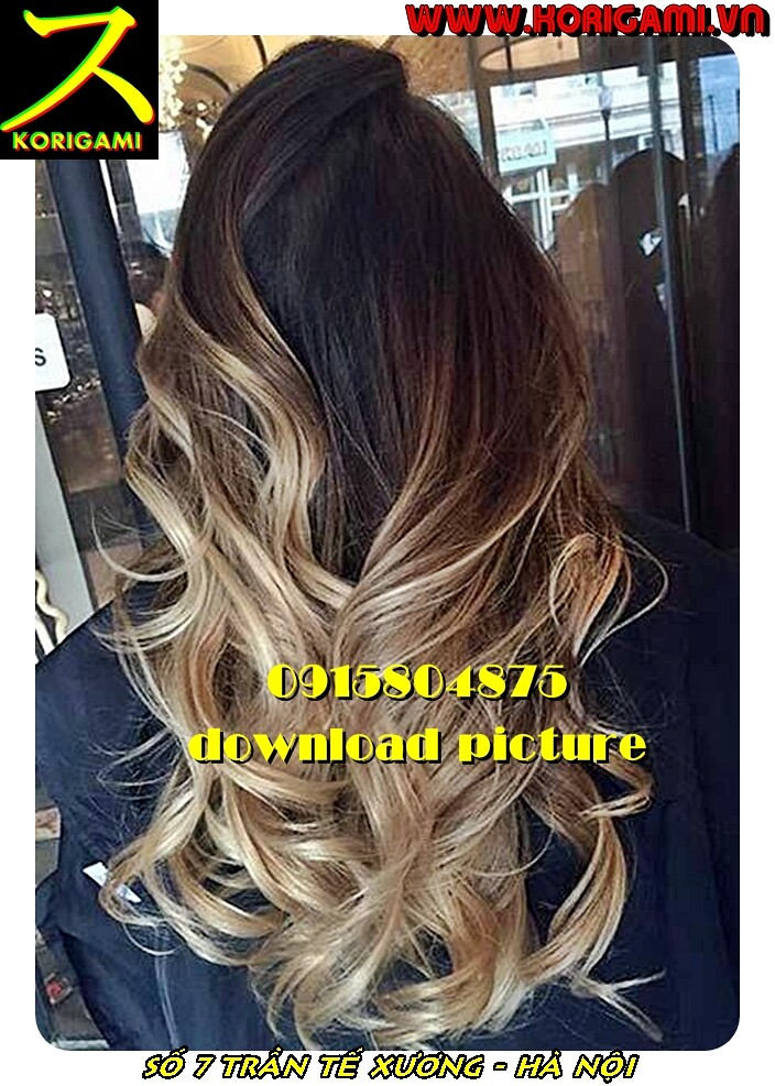 BLOW OUT HAIR STYLES FOR WOMEN IN HANOI KORIGAMI SALON 0915804875