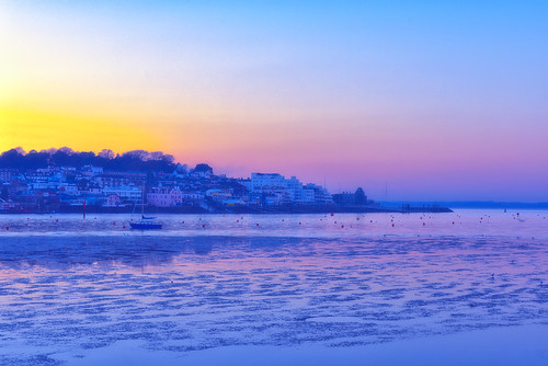 cowes east west isle wight sunset blue hour dusk twilight sea coast yacht boat skyline landscape scape seascape dsc6544 eastcowes england unitedkingdom gb