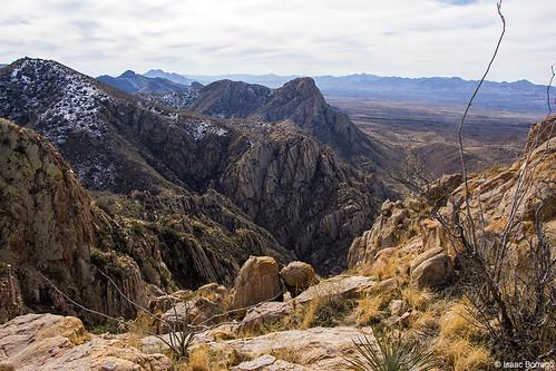 uploadedviaflickrqcom snow desert mountains peaks santaritamountains elephanthead tucson arizona canonrebelt4i skyislands unitedstates america usa southernarizona