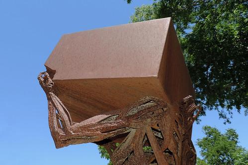 wimberley wimberleytx texas usa art artwork sculpture metal metalstatue outdoor statue street streetviews rusted rustedsculpture dnysmphotography dnysmsmugmugcom
