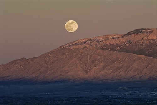 Moon over the Sandias | by Buggs' Photography