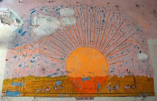 Antique Mexican painting, Puesta Del Sol, Hotel Belmar, Mazatlan, Sinaloa, Mexico | by Wonderlane