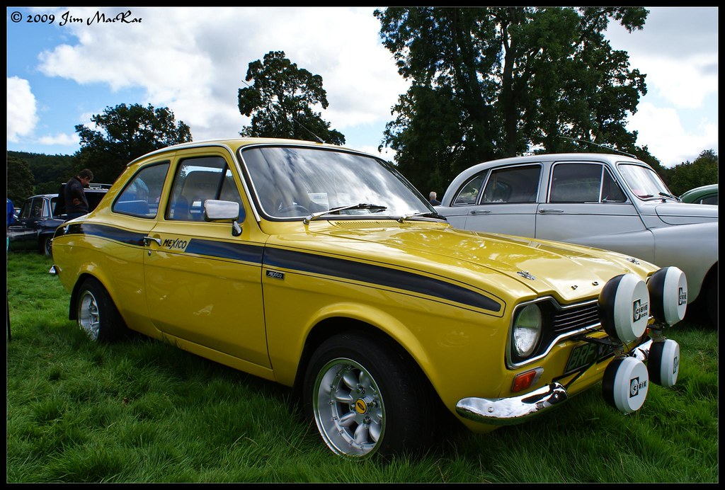Ford Escort RS Mexico Mk I | The Ford Escort RS 1600 and RS ...
