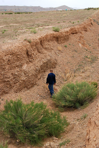 terrain mystery landscape geotagged utah desert pit excavation topography floy dennisudink ut2008may h800h