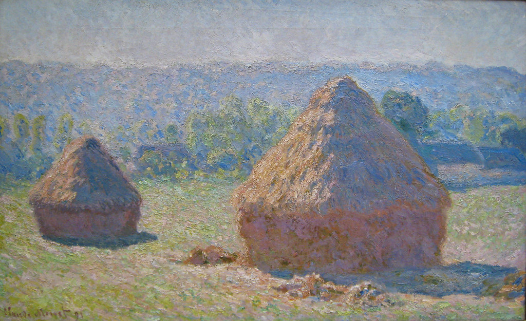 Monet, Haystacks, End of Summer, 1891