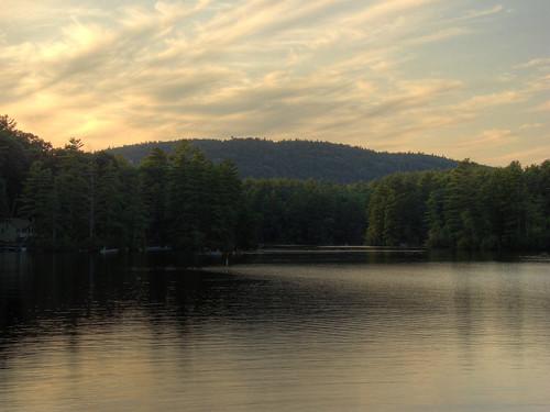 statepark sunset mountain lake newhampshire pawtuckaway southmountain pawtuckawaystatepark codycarlson codymcarlson nealscove