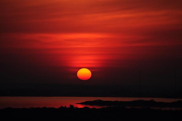Pôr-do-sol Porto Alegre