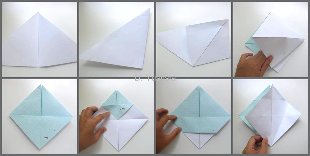 Origami Crown Tutorial: Step by Step - Consumer Crafts   515x1024