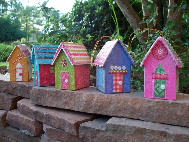 Gingerbread House Ornament Paper Mache