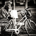 Poor Old man and his bicycle... by Alek™