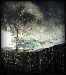 Raindrops on the Window VI
