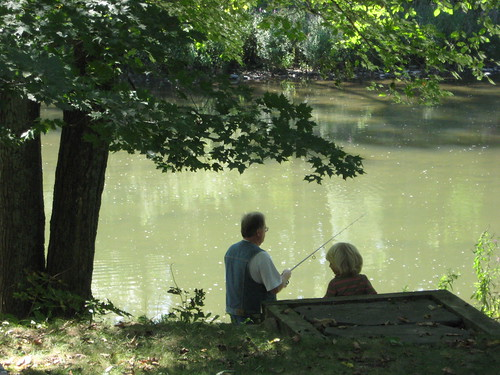 fishing with granddaddy | by so wabi sabi