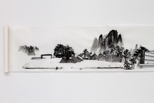 Transformation - Norwich in the Chinese scroll painting