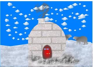 Doodle Week - Snow People