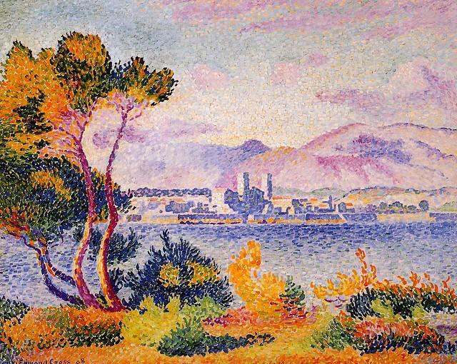 Henri Edmond Cross - Antibes, afternoon 1908 - pc