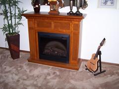 Dimplex Caprice Oak Electric Fireplace Mantel Package