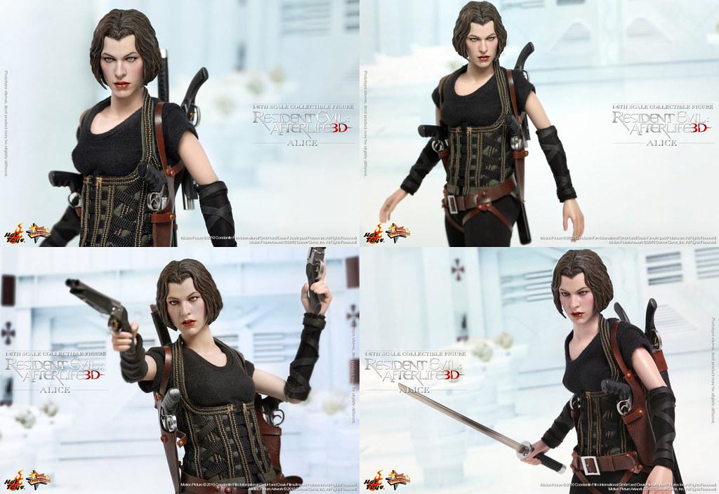 Alice Residentevil Hottoys 03 Resident Evil Afterlife 1 Flickr