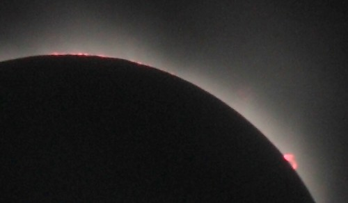 totality, details of prominence