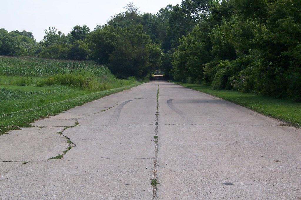 Former NR/US 40 alignment