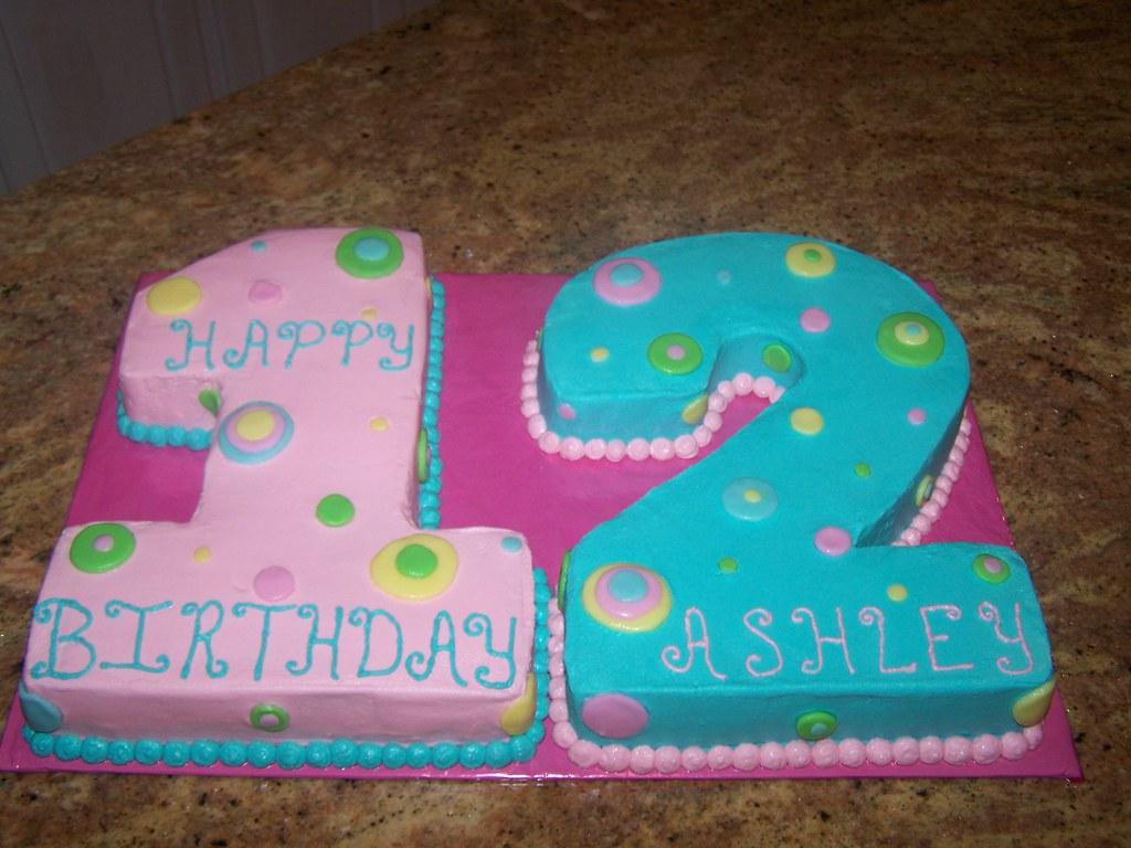 Number 12 Cake