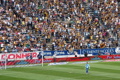 DSC_0335 Gran cantidad de aficionados a los Pumas se dieron cita en el Cuauhtémoc por LAE Manuel Vela