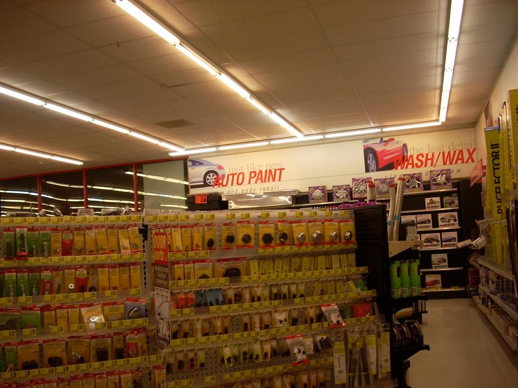 Advance Auto Parts Store Interior