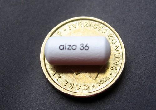 Concerta vit 36 mg på Viktorias pappa