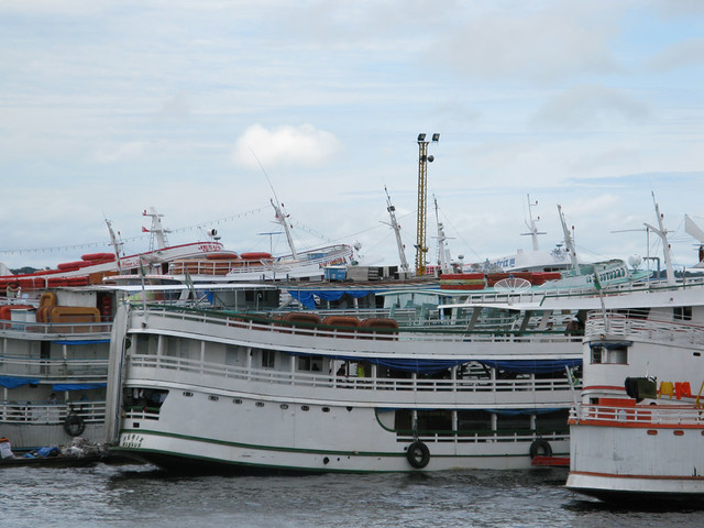 Boats in Manaus