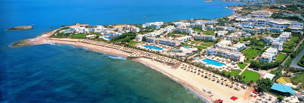 Aldemar Knossos Royal hotel in Crete, Greece | Aerial View o