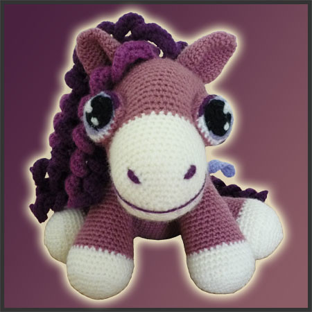 pony amigurumi tutorial - YouTube | 450x450