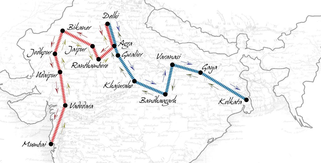 Route Maps of the Maharajas' Express (India) | Train Charter ... on sea route map, india hill stations map, india train tickets, asia route map, india education map, india travel map, air india route map, india high speed rail map, india delhi map, india map map, india railway system, us amtrak route map, express route map, washington dc metro silver line map, india train cars, railroad route map, india city map, bombay route map, travel route map, india chennai map,