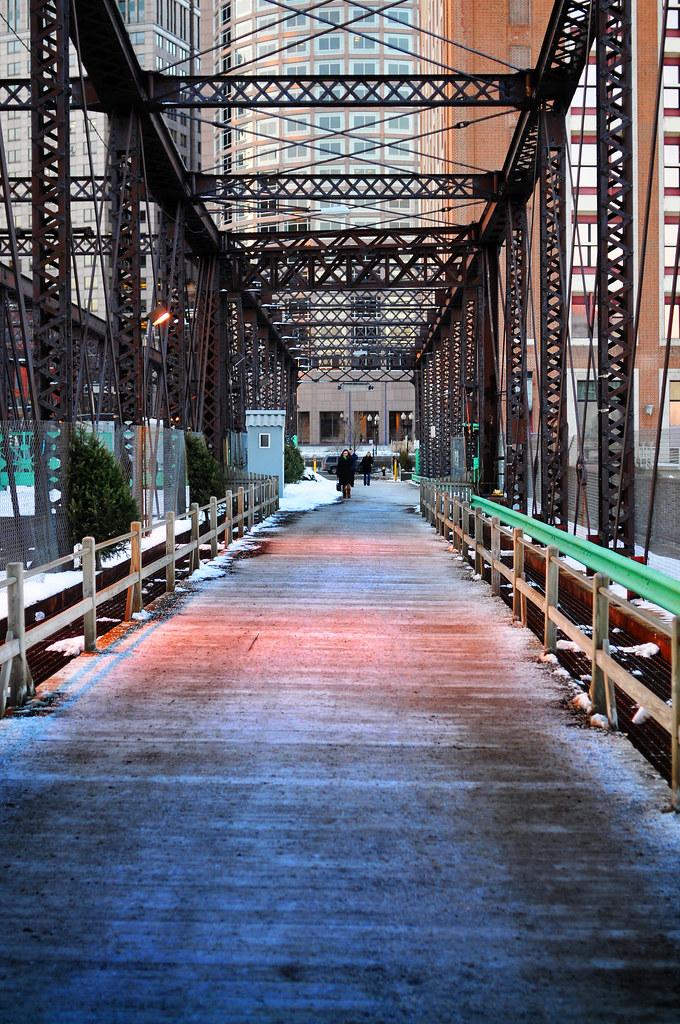 foot bridge by Violentz