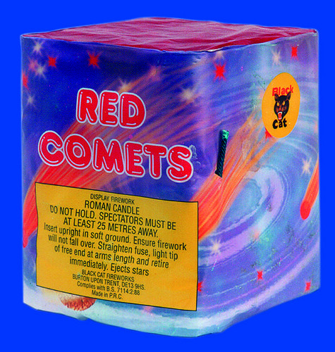 RED COMET by BLACK CAT FIREWORKS