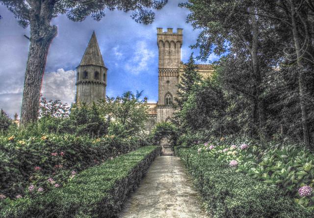 Castello Villa Cimbrone @Ravello (HDR)