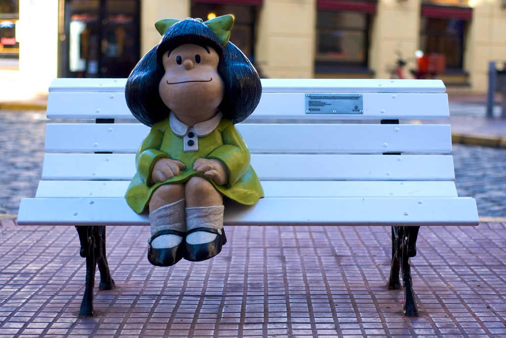 Mafalda in San Telmo