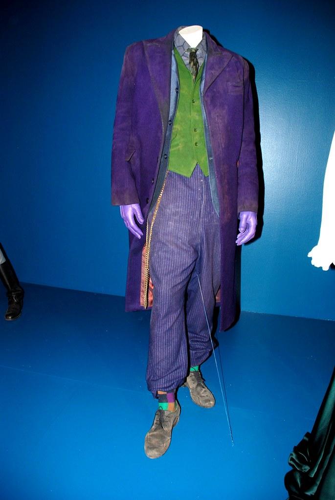 Heath Ledger S Joker Costume At Fidm Due To The Lighting C