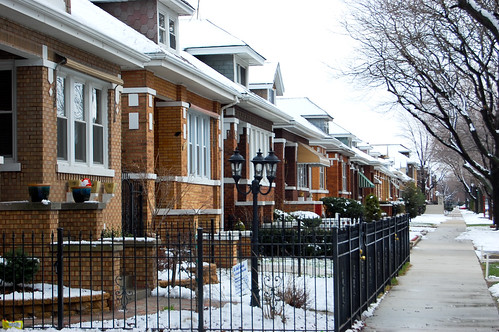 Gage Park bungalow row | by reallyboring
