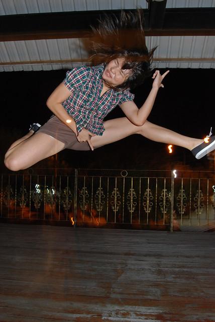 Air Guitar Girl!