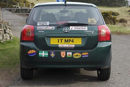 Bumper Car Sticker Fun!