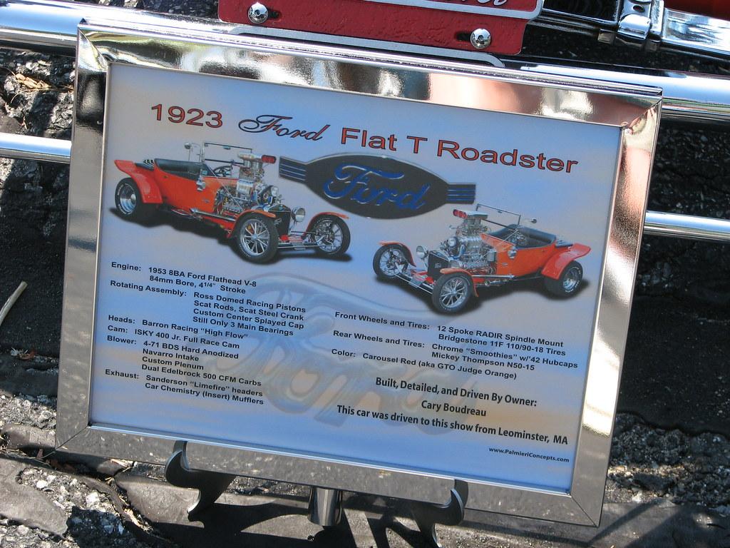 1923 Ford Flat T Roadster | FranMoff | Flickr