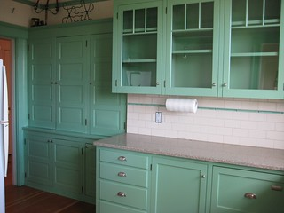 Kitchen In Seafoam Green Lots I Hated The Color At First Flickr