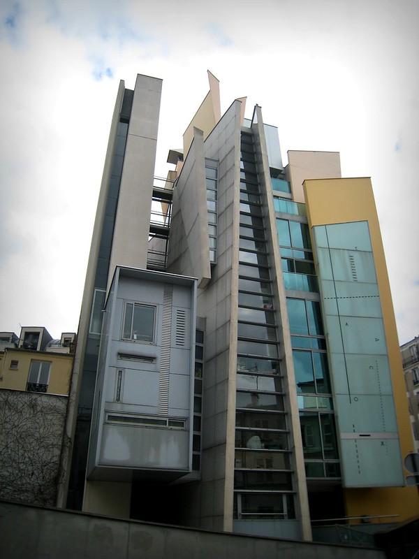 Immeuble déconstruit