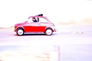 fiat cinquecento - italian cars | panning | by Paolo Margari | paolomargari.eu