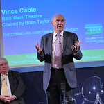 Vince Cable & Brian Taylor |