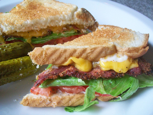 Cheesy BLT
