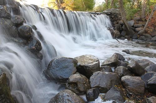 fall water wisconsin creek river waterfall rocks stream hike bolders whitnalpark