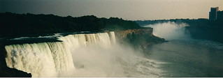Niagara Falls from the NY side.