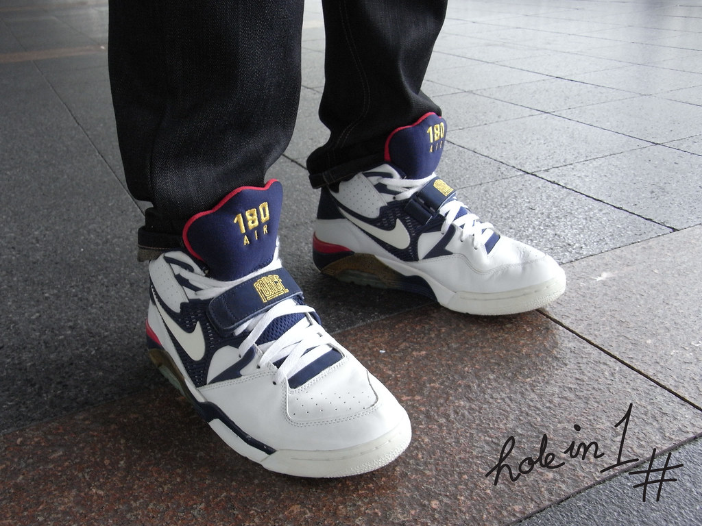 best service 130e7 00dac Nike Air Force 180 Olympic Charles Barkley | FirstKicks | Flickr